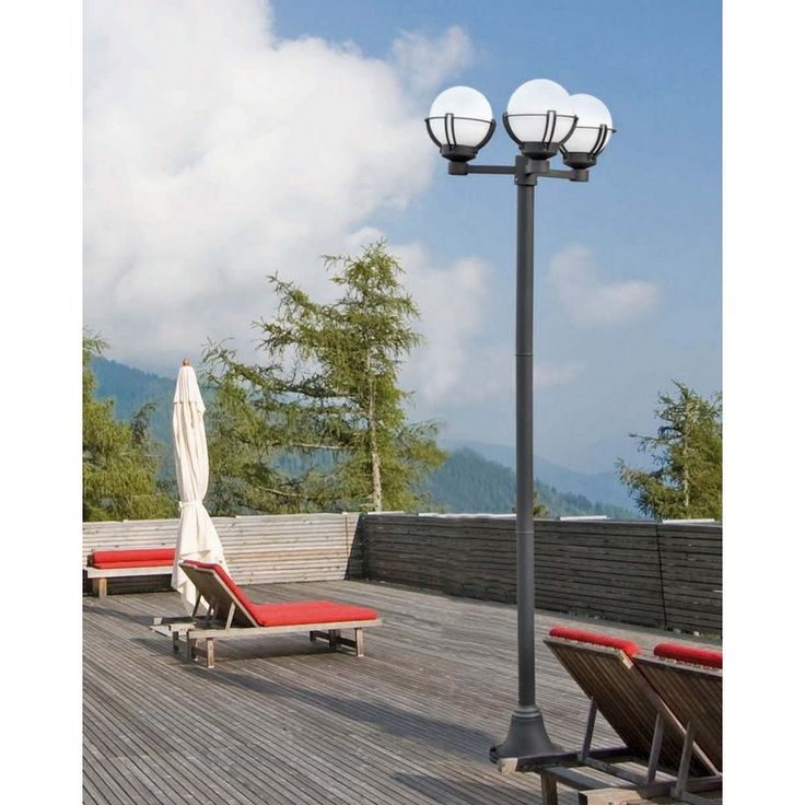 1000 ideas about lampadaire exterieur on pinterest for Eclairage led exterieur solaire