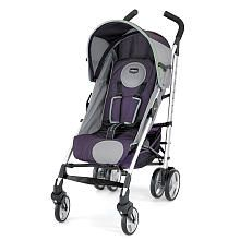 Chicco Liteway Stroller - Plum Will go with the car seat that I have for Baby Quinn!