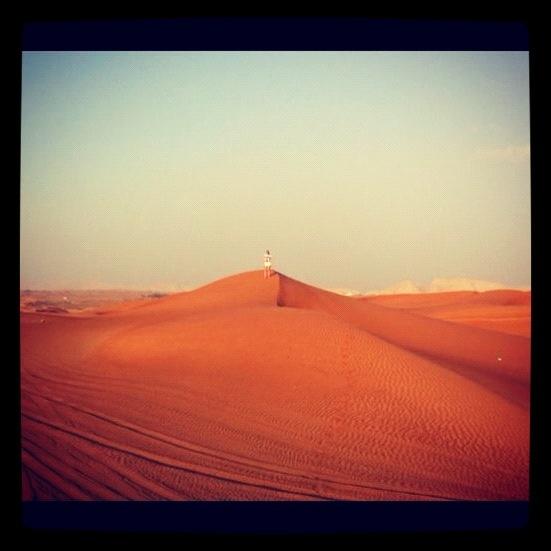 Desert, sand dunes