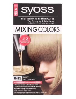 myTime.de Angebote Syoss Mixing Colors 8-15 Pures hellblond: Category: Drogerie > Körperpflege & Kosmetik > Haar-Coloration…%#lebensmittel%