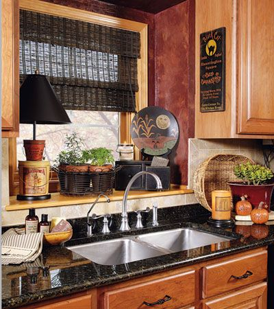 Like the deep window above the kitchen sink but would like it to be a larger and longer window.