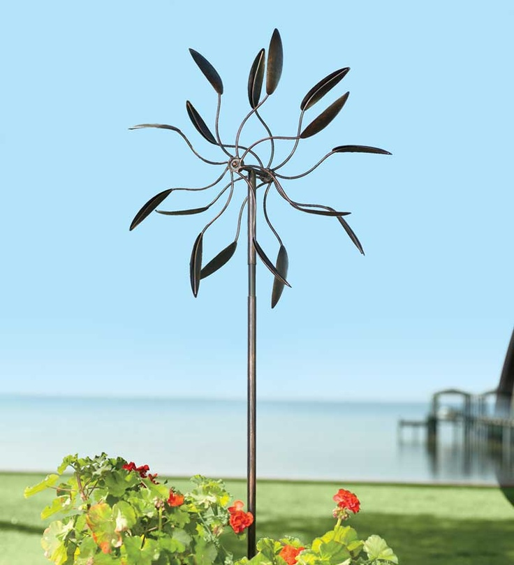 Discover Garden Decor U0026 Metal Wind Spinners Thatu0027ll Be Unique Outdoor Yard  Art.