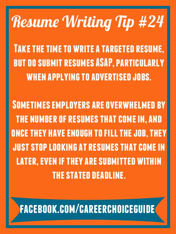 resume writing quick tip take the time you need to write a targeted professional