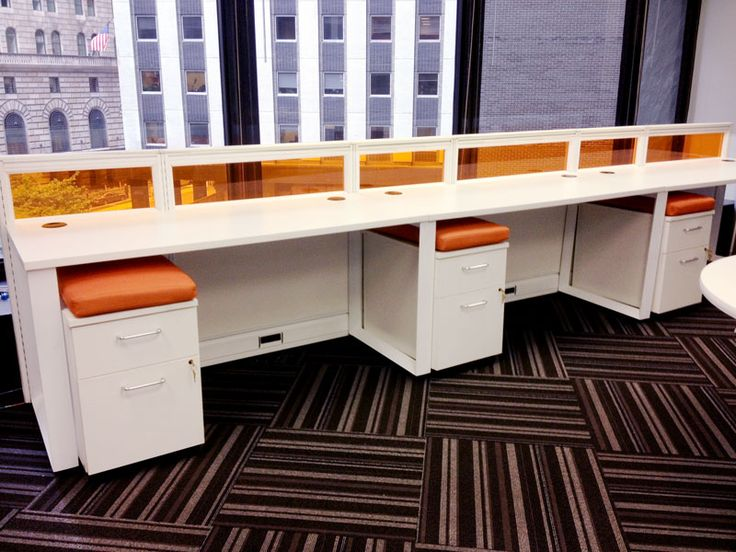 our client wanted a custom desking solution that matched the personality of the company http modern office
