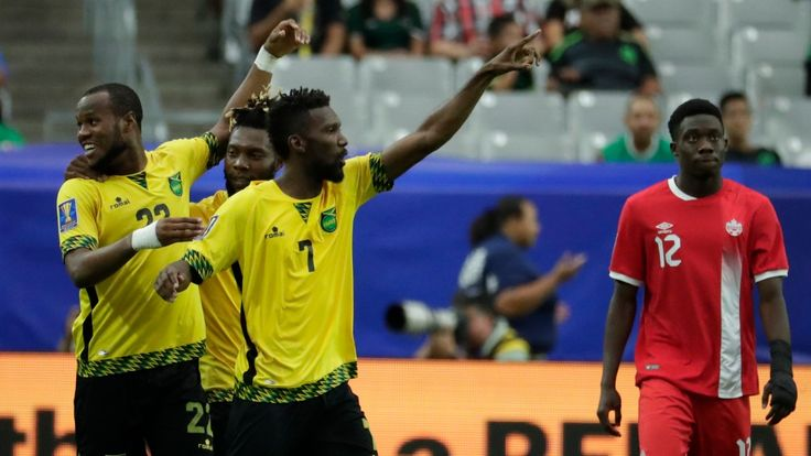 Gavin Day   Canada has been eliminated from the CONCACAF Gold Cup after falling 2-1 in the quarter-finals against Jamaica at the University of Phoenix Stadium on Thursday. Jamaica took a two-goal lead through Shaun Francis and Romario Williams before Junior Hoilett replied for Canada. It was the... - #Canada, #CBC, #Cup, #Gold, #Jamaica, #Quickly, #Sports, #Strikes, #World_News