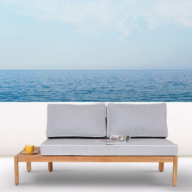 Bangunlah set sofa outdoor sesuai dengan kebutuhan taman Anda dengan set sofa ozy yang luar biasa ini.   Yang satu ini adalah end unit, yang menggabungkan sofa dua kursi dengan dan meja ujung, membuatnya sangat fungsional dan nyaman. Material yang dicoba dan diuji di luar ruangan, menggunakan Jati untuk daya tahan dan integritasnya. Keterampilan dan kualitas terjamin. Kain outdoor yang menutupi bantalan tebal memberikan kenyamanan yang sangat baik. Belanja online di W-Home untuk mendapatkan…