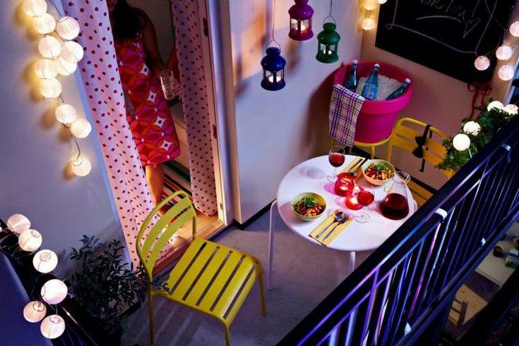 IKEA 2013 summer decorative lighting - add extra magic to summer evenings and nights