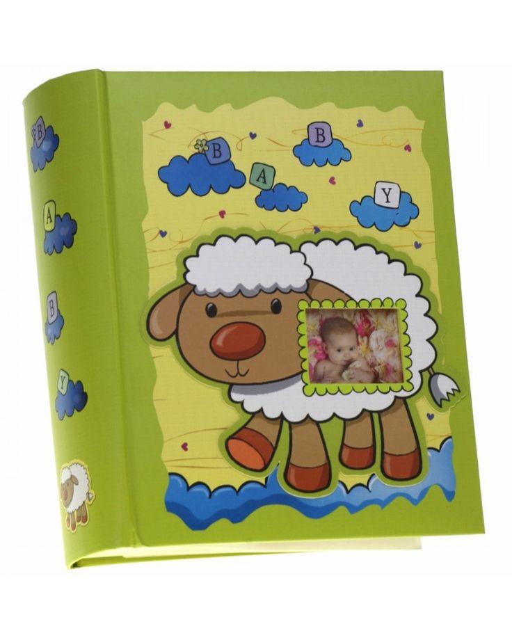 Różowy album szyty na 300 zdjęć 10x15 dla dziecka AD OWIECZKA