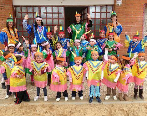 hacer disfraces caseros para colegios indios