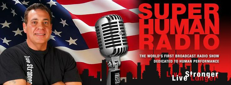 Super Human Radio is the world's first broadcast radio show dedicated to fitness, health and anti-aging. An emphasis on exercise, nutrition and hormone management makes this one of the most progressive shows about preventative and regenerative techniques designed to increase longevity.