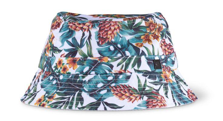 Pineapple Bucket Hat from Backdoor Surf $34.90