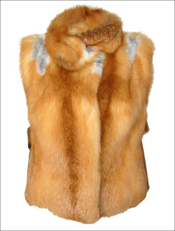 Γυναικείο γούνινο γιλέκο Γούνα: red canadian fox Τιμή: 290€