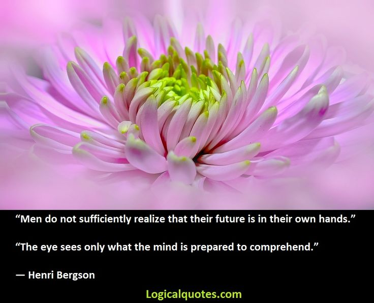 Henri Bergson (18 October 1859 – 4 January 1941) was a major French philosopher. This post features Inspirational Henri Bergson Quotes.