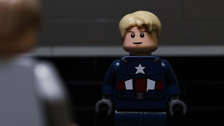 LEGO Stop-Motion Animated Version of the 'Captain America: The Winter Soldier' Trailer #1
