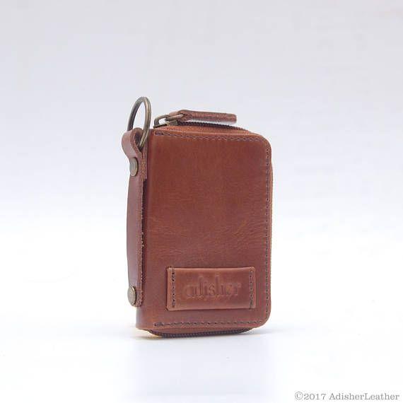 Handmade Leather Key Holder Car Key Holder Brown Leather Key