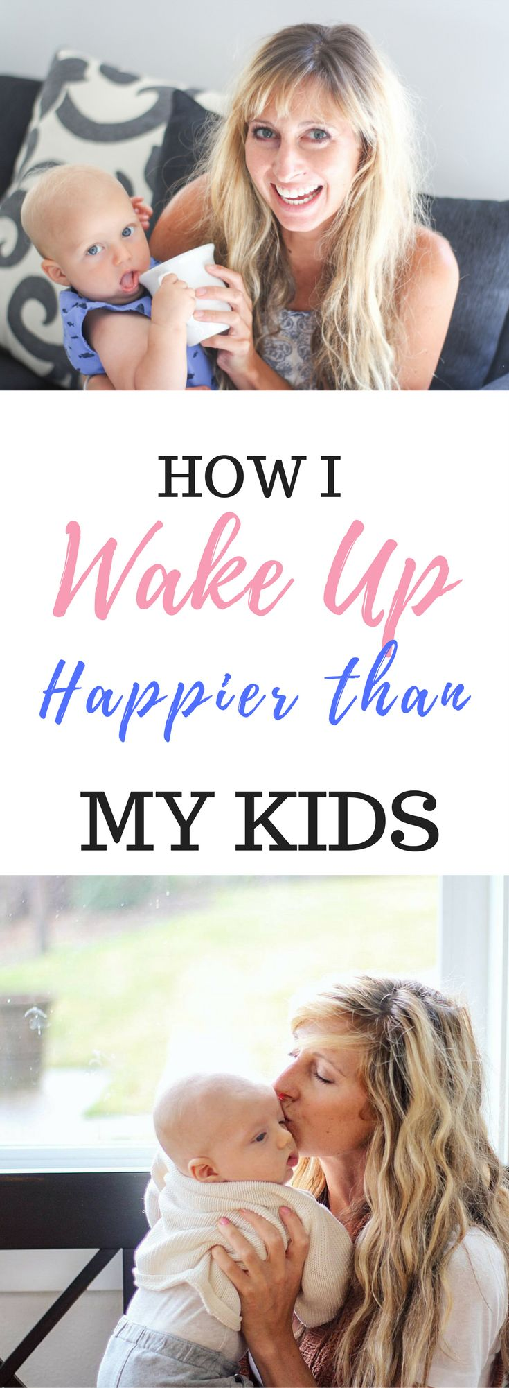 Tips for the morning to wake up happier with a toddler and young children@Brittany Cardona