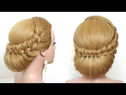 Easy Updo. Hairstyle For Long Hair Tutorial Step By Step - YouTube