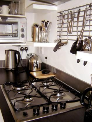 Kitchen facilities - Small fridge/mini, freezer, Microwave/oven ,combo, Mini oven ,Gas, burners, Dishwasher ,Percolator, Kettle, Hob fan ,Toaster ,Dinnerware and cookware provided
