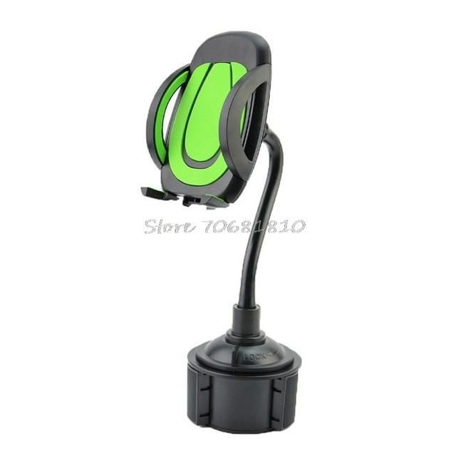 For Gooseneck Cup Holder Cradle Car Mount For Cell Phone Adjustable Universal 4 colors #R179T# Drop shipping