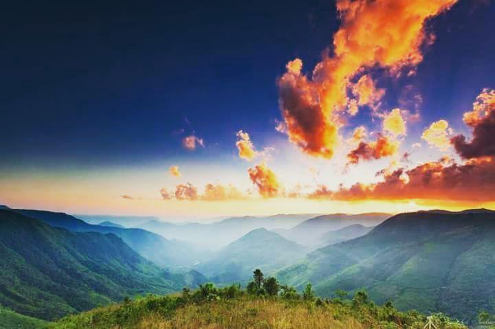 #Sunset #Shillong #Dawki  #Meghalaya #hills #northeastindia P.C- FB/PhotographyByKaushik
