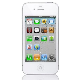 (Refurbished) Apple iPhone 4 16GB (White) [Grade A]