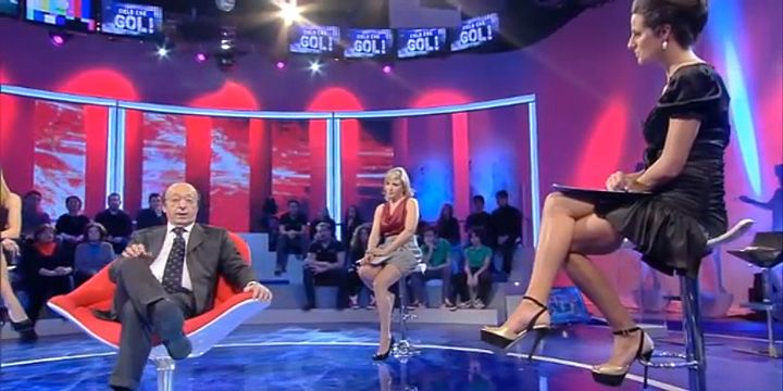 Michela Rigucci Luxury on TV! Cristina De Pin with our shoes!