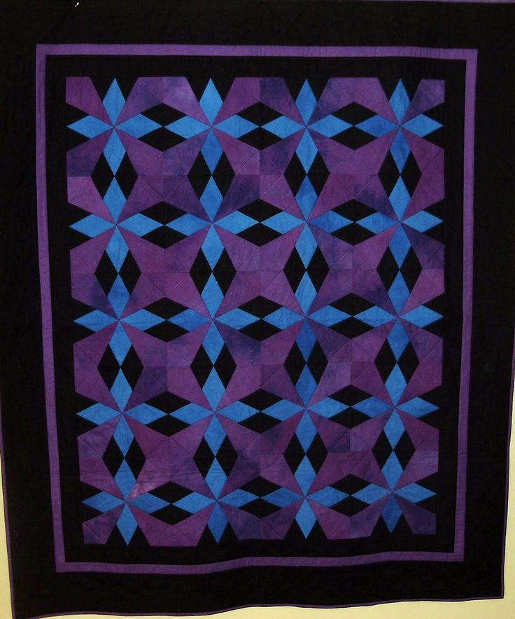 Amish Stars quilt by Joanne | everyone deserves a quilt