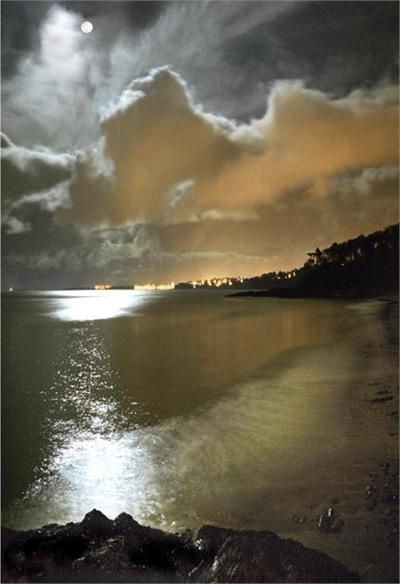 Bangor Lights from Helen's Bay, Bangor, Wales - Ken Lucas