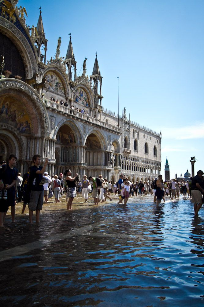 San Marco Piazza, Venice - at high tide