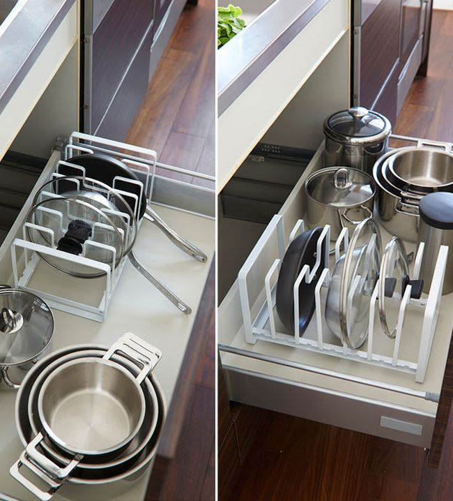 M s de 25 ideas incre bles sobre almacenamiento de tapas - Ikea cubiertos cocina ...
