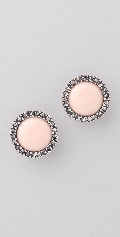 Rachel Leigh Jewelry Estates Perfect Stud Earrings | SHOPBOP SAVE 25% use Code: BIGEVENT15