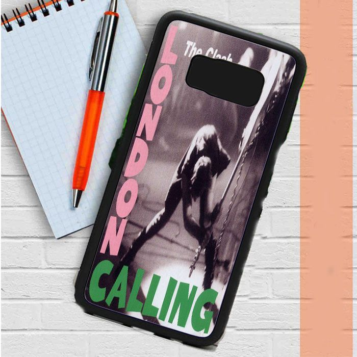 London Calling The Clash Samsung Galaxy S8 Plus Case Dewantary