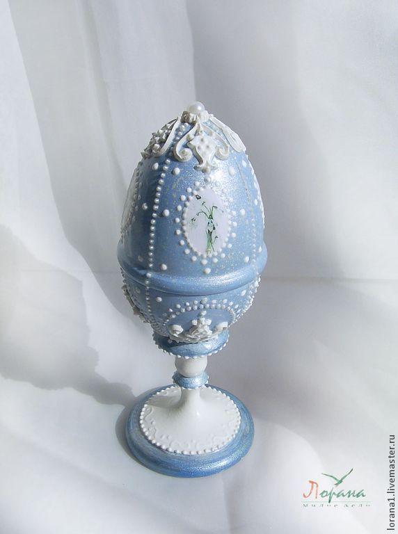 Пасхальные сувениры. Яйцо с весенним букетиком ! - Пасха,подарки к праздникам