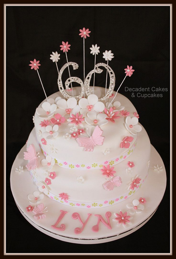 <3 60th Birthday <3 Made By Decadent Cakes & Cupcakes