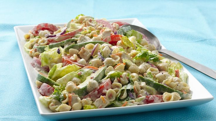 ... BLT Salad - Savor BLTs pasta-salad style, with California avocados