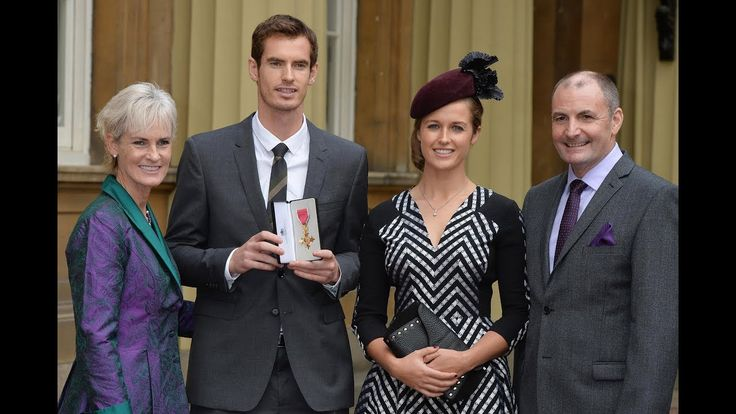 Who is Andy Murrays dad? William Murray re-married last year with sons Andy Jamie present