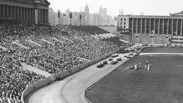 Remember when: Soldier Field in Chicago once hosted a NASCAR Cup race | Autoweek
