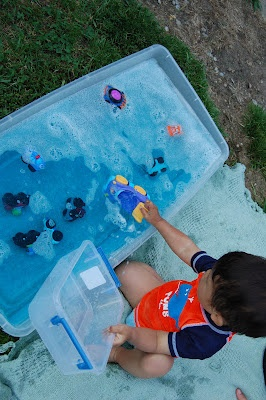 {Car Wash} Pull out all the vehicles at the house and have a car wash! #WaterFun #CampSunnyPatch