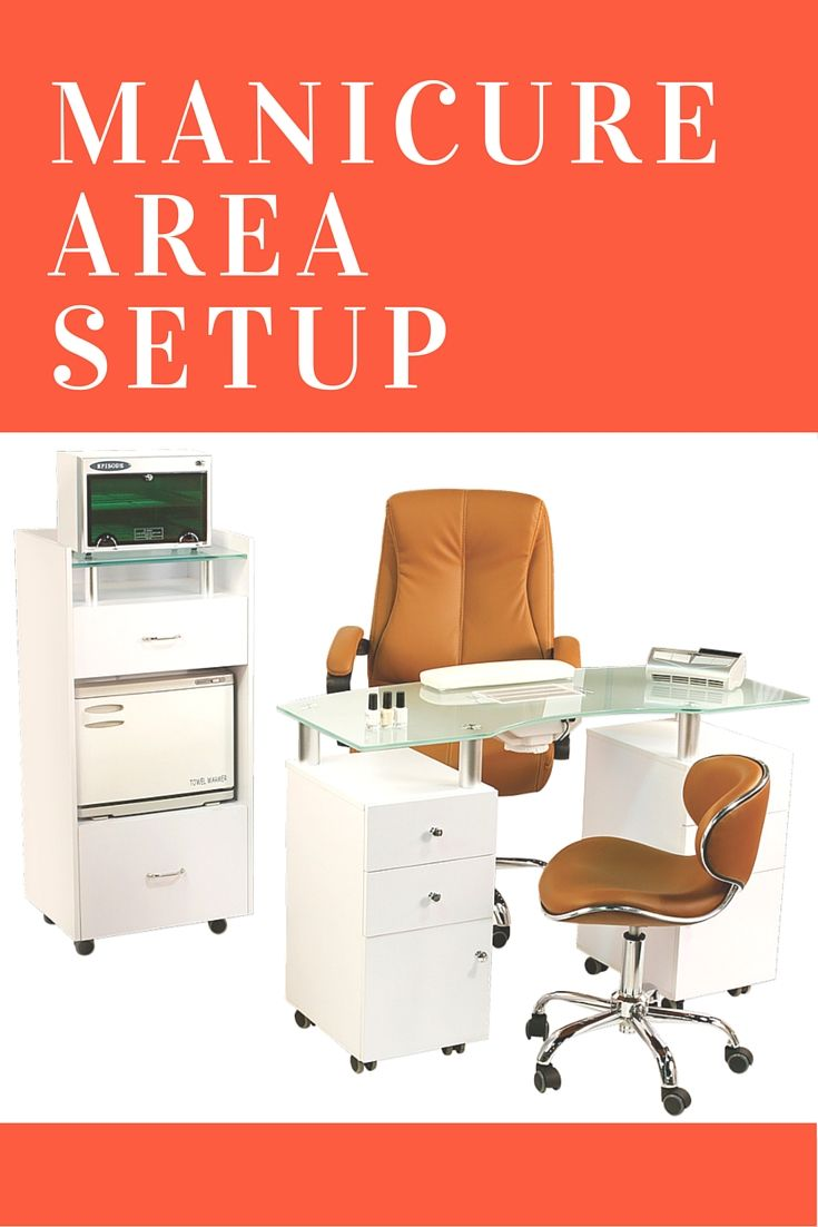 17 best images about manicure table area furniture ideas for Nail technician table