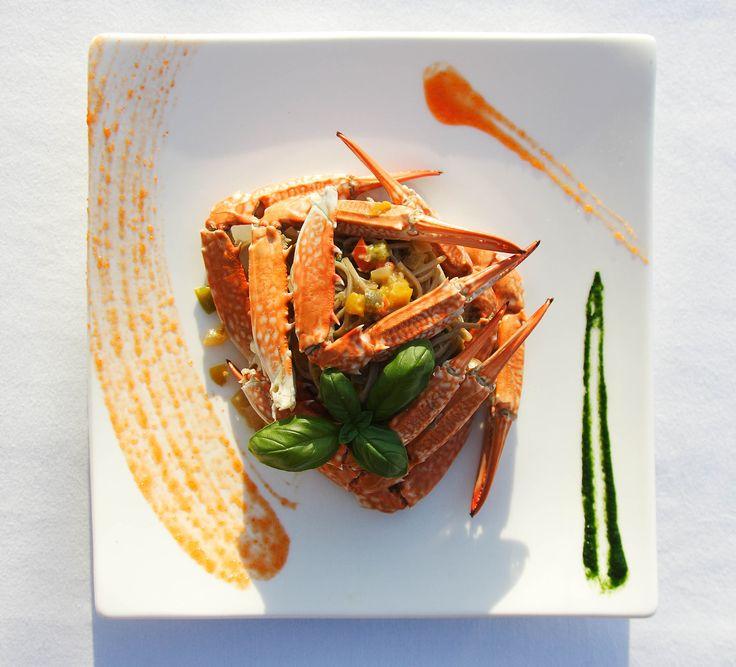 Private dining & personal butler-hosts awaits you at Azura Benguerra in #Mozambique. #GourmetAfrica #Africa #cuisine #crab #beach #island