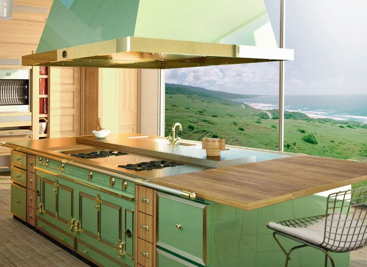 118 best beautiful non white kitchens images on pinterest for Bella cucina kitchen cabinets
