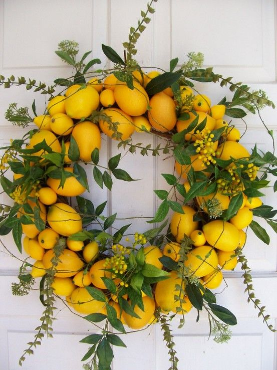 ...with lemons