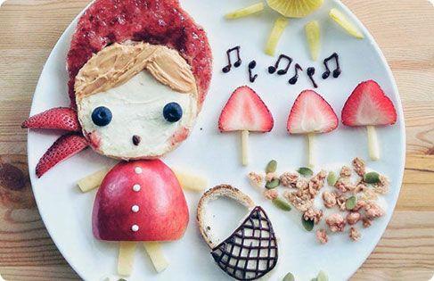 παιδικα φαγητα-τα πιο εντυπωσιακα χαριτωμενα παιδικα φαγητα-genethlia