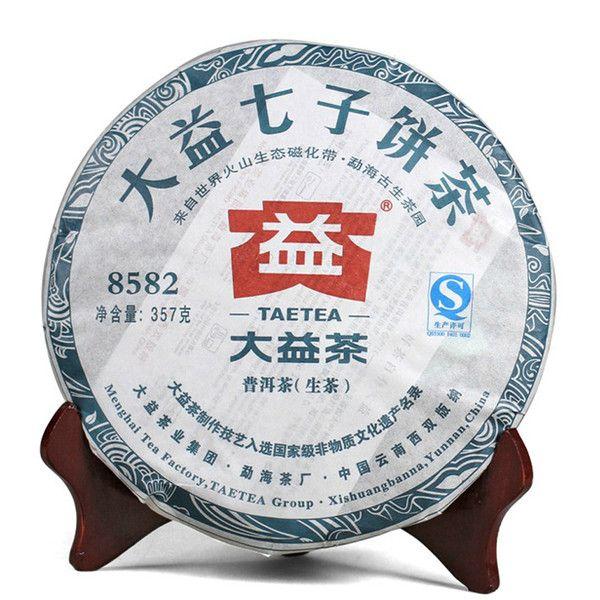 картинка 8582 (201 серия). Чайная фабрика Мэнхай. Шен пуэр 2012 года.  Вес: 357…