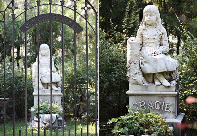 Little Gracie  Bonaventure Cemetery Savannah, Georgia