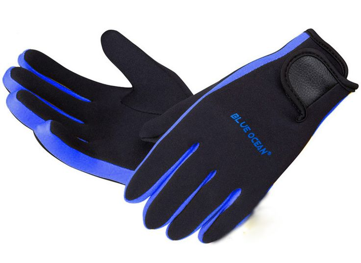 HOT Wholesale Diving Equipment Scuba Wetsuit Diving Surfing Snorkeling Kayaking Winter Swimming Gloves 1.5MM Neoprene Skid-proof
