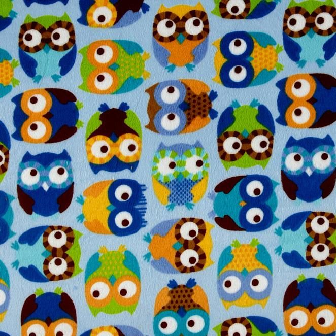 knufferzachte minky met uilen http://www.troispetitspois.nl/home/133-minky-uiltjes-blauw.html