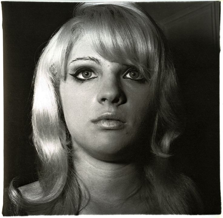 Diane Arbus Photo--- the lighting and the gaze. Similar to Martine's photo of the boy.