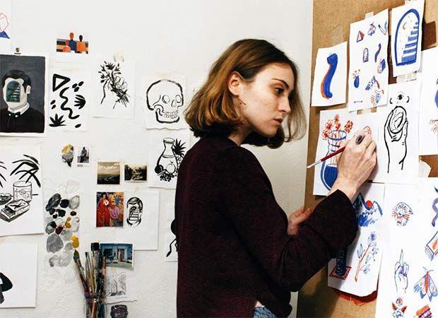 """Mercedes Bellido: """"No podría dejar de pintar nunca"""" - Style Lovely"""