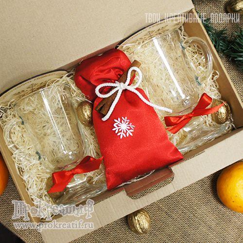 """Подарочный набор """"Душевный глинтвейн"""" Яркий подарочный набор для приготовления глинтвейна с авторским оформлением."""